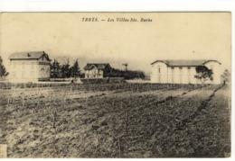 Carte Postale Ancienne Trets - Les Villas Sainte Barbe - Trets