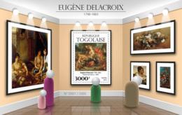 Togo 2015 Paintings Eugene Delacroix - Togo (1960-...)