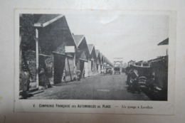 92 : Un Garage à Levallois - Compagnie Française Des Automobiles De Place - Levallois Perret