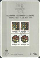 NORWEGEN 1987 Sonderdruck / Souvenir Bloc Nidaro 1987 - Blocs-feuillets