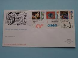 COBRA ( NVPH - Nr. 256 ) Anno 1988 ( Zie Foto Voor Detail ) - FDC