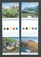 Australian Antarctic Territory 2010 Macquarie Island Set Of 4 As Gutter Pairs MNH - Unused Stamps