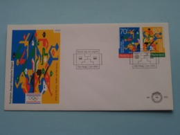 Europese Jeugd Olympische Dagen ( NVPH - Nr. 310 ) Anno 1993 ( Zie Foto Voor Detail ) - FDC