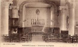 """RIORGES """" Intérieur De L'église"""" - Riorges"""