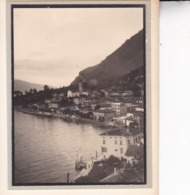 GARDONE Lac De Garde Italie Août 1955 Photo Amateur Format Environ 7,5 Cm X 5,5 Cm - Orte