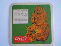 Bierviltje Sous-bock Wiel's Wielemans Beer De Oude Beschaving Les Grandes Civilisations Anciennes Azteques Azteken 5 - Beer Mats