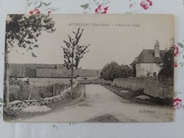 Attricourt L'entrée Du Village Haute Saône Franche Comté - France