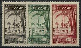 Fezzan, Taxe N° 6 à N° 11** Y Et T - Fezzan (1943-1951)