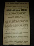 Lucien FERIAUN Né à Bollezeele Soldat Au 91 éme RI Tué Le 30/1/14 Dans La Marne  Combat De Saint Hubert. - 1914-18