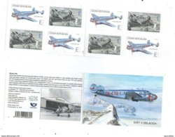 2019 : Carnet De 4X2 Timbres  Avion Electra 10A (1937) De Jan Bata / Booklet Airplane - Neufs
