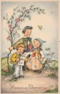 Heureux Anniversaire : Enfants Chantant - à Paillette ( Illust. à Définir ) - Cumpleaños