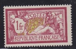 FRANCE - MERSON N°121 Neuf TB. - 1900-27 Merson