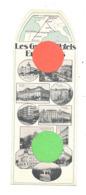 Marque-pages - Les Grands Hôtels Européens - Château D'Ardenne, Bruxelles, Lyon, Madrid, Paris, Nice,Seville,...(b260/2) - Marque-Pages
