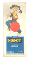 """Marque-pages Publicitaire - Cigarette """" CELTIQUE """" + Loterie Nationale - Illustrateur POULBOT .(b260/2) - Marque-Pages"""