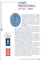 DOCUMENT FDC 2000 CORPS PREFECTORAL - Documenten Van De Post