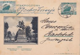 POLOGNE 1936    ENTIER POSTAL/GANZSACHE/POSTAL STATIONERY CARTE ILLUSTREE DE POZNAN - Ganzsachen