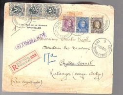 R-Bruxelles (O.L.) Brussel Sogefor > Katanga Congo Directeur Des Travaux Chutes-Cornet Likasi (753) - Belgio