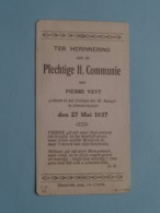H. Communie > Pierre VEYT I/h College Der H. Maagd Te DENDERMONDE Op 27 Mei 1937 ( Details - Zie Foto's ) ! - Communion