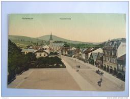 Cpa Vrchlabi Hohenelbe Hauptstrasse Circulée Used 1909 - Tsjechië