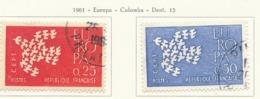 PIA - FRA - 1961 : Europa CEPT - (Yv 1309-10) - Europa-CEPT