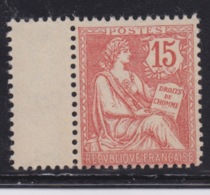 FRANCE - MOUCHON N°125 Neuf TB. - 1900-02 Mouchon