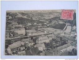 Souvenir De Thuin La Vallée De La Sambre Circulée 1920 Edition S. Lagouge - Thuin