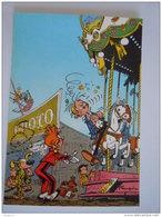 1986 Trésors Du Journal De Spirou Carte Postale 69 Illustration  Couverture Pour Le 88é Album Du Journal André Franquin - Stripverhalen