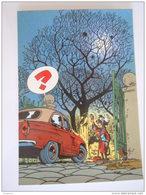 1986 Trésors Du Journal De Spirou Carte Postale 52 Illustration  Couverture Pour Le 70é Album Du Journal André Franquin - Stripverhalen