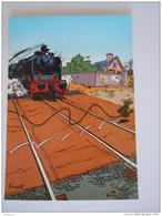 1986 Trésors Du Journal De Spirou Carte Postale 37 Illustration  Couverture Pour Le 55é Album Du Journal André Franquin - Stripverhalen