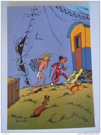 1986 Trésors Du Journal De Spirou Carte Postale 25 Illustration  Couverture Pour Le 43é Album Du Journal André Franquin - Stripverhalen