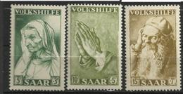 SARRE      N° YVERT   347/49   NEUF SANS CHARNIERES     ( NSCH 1/05 ) - Unused Stamps