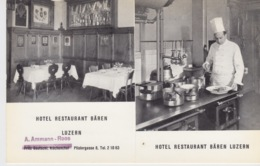 SVIZZERA - LUZERN - HOTEL RESTAURANT BAREN - LU Lucerne