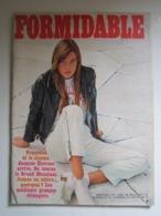 FORMIDABLE Numéro 15 - Décembre 1966 FRANCOISE HARDY DUTRONC DALIDA MONTAND PIERRE PERRET FERRER STELLA  ... - Muziek