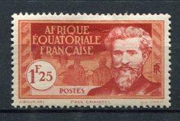 AEF - Yv.  N°53    *  1f25  Cote  1,5 Euro  BE    2 Scans - A.E.F. (1936-1958)
