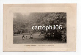 - CPA LA GARDE-FREINET (83) - La Cueillette Des Châtaignes 1917 - - La Garde Freinet