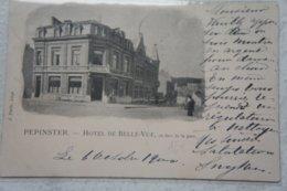 CPA PEPINSTER Ensival Verviers Hôtel De Belle Vue En Face De La Gare - Pepinster