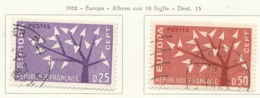 PIA - FRA - 1962 : Europa CEPT - (Yv 1358-59) - 1962