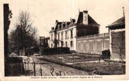 JAUNAY CLAN -86- ROSERAIE ET JARDIN ANGLAIS DE LA COUTURE - Autres Communes