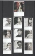 CC855 2016 GIBRALTAR ROYAL QUEEN ELIZABETH II #1717-26 MICHEL 14.6 EURO 1SET MNH - Royalties, Royals