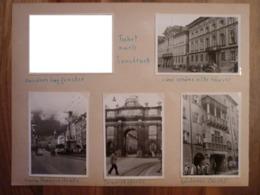 Innsbruck 12 Stück Urlaubsfotos Von 1956 Altstadt Hotel Greif Maria Theresienstraße Ottoburg - Orte