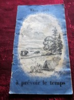 JAMBOREE SCOUT INTERNATIONAL PARIS AOÛT 1947 PLAQUETTE CONÇUE SPÉCIALEMENT PR LE SCOUTISME ETRE PRÊT A PRÉVOIR LE TEMPS - Scouting