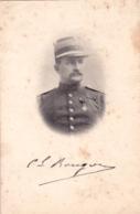 Militaria - Colonel Auguste Bougon - Guerre 1914 - Les Hommes Pasent , La France Reste - Affaire Estherhazy ( Dreyfus ) - Personnages