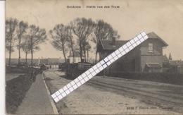 """OORDEREN-ANTWERPEN""""STATIE VAN DE STOOMTRAM""""HOELEN 6030 UITGIFTE 1911 TYPE 5 - Antwerpen"""