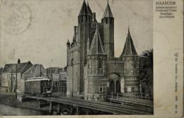 Haarlem // 1905 // Amsterdamsche Poort Met Tram No. 3 - Haarlem