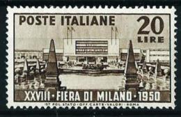 Italia Nº 554 Nuevo - 1946-60: Mint/hinged