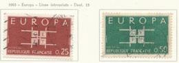 PIA - FRA - 1963 : Europa CEPT - (Yv 1396-97) - Europa-CEPT