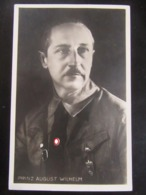Postkarte Propaganda Prinz August Wilhelm - SA - Erhaltung I-II - Briefe U. Dokumente