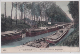 VENDHUILE (Aisne) - Rencontre Des Rames à Macquincourt - Péniche - Batellerie - France
