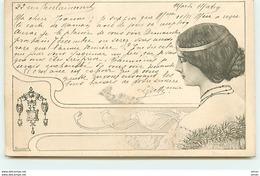 N°11249 - Carte Illustrateur - Art Nouveau - Cléo De Mérode - Autres Illustrateurs