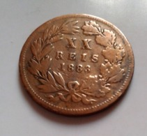 XX REIS PORTUGAL 1883 D. LUIZ I REI  (B12-17) - Portugal